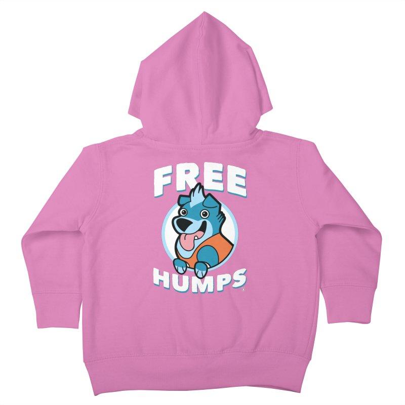 FREE HUMPS Kids Toddler Zip-Up Hoody by Tripleta Gourmet Clothing