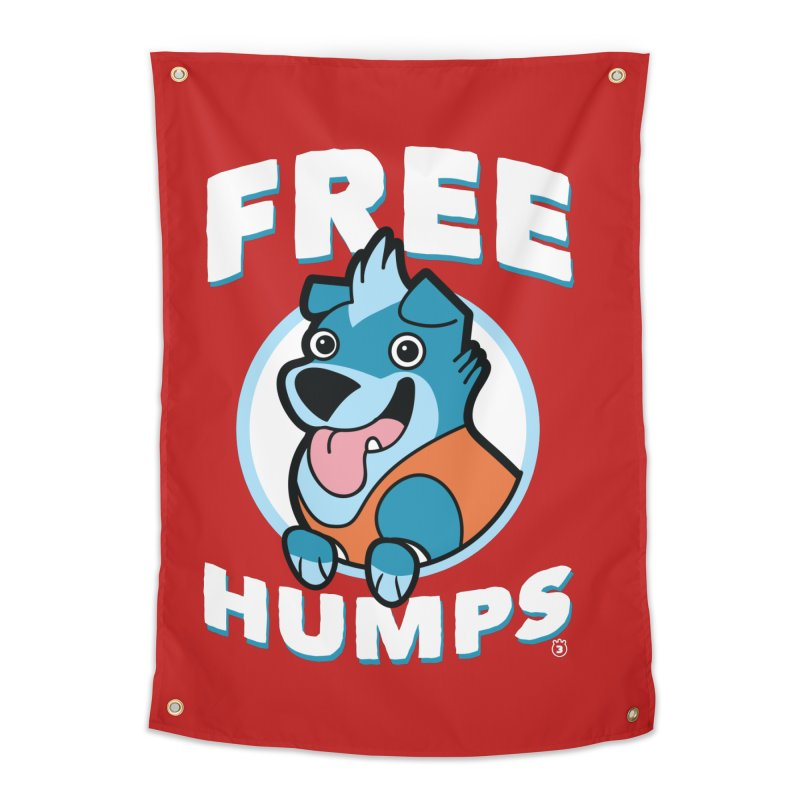 FREE HUMPS Home Tapestry by Tripleta Studio Shop