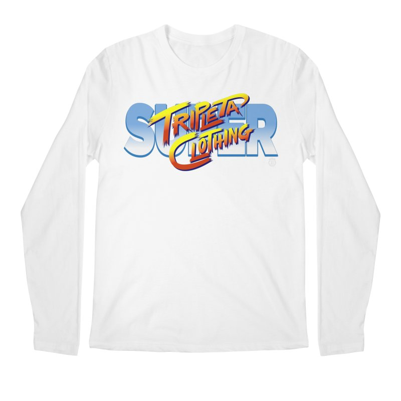 SUPER TRIPLETA FIGHTER Men's Longsleeve T-Shirt by Tripleta Gourmet Clothing