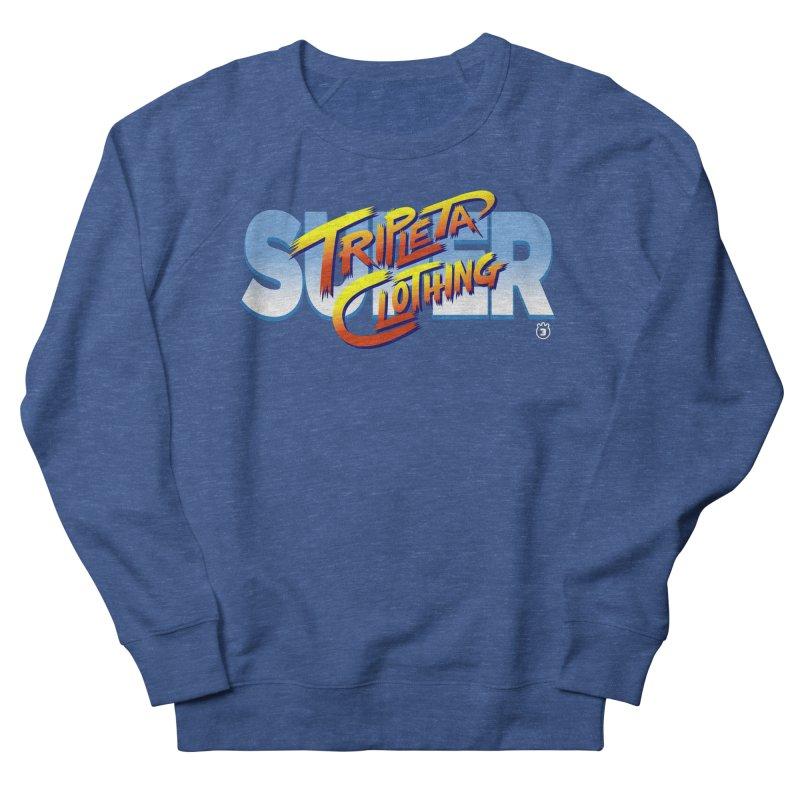 SUPER TRIPLETA FIGHTER Women's French Terry Sweatshirt by Tripleta Gourmet Clothing