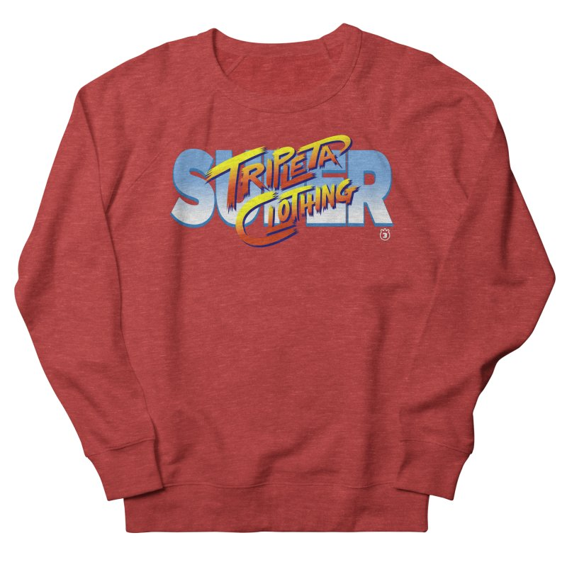 SUPER TRIPLETA FIGHTER Women's Sweatshirt by Tripleta Gourmet Clothing