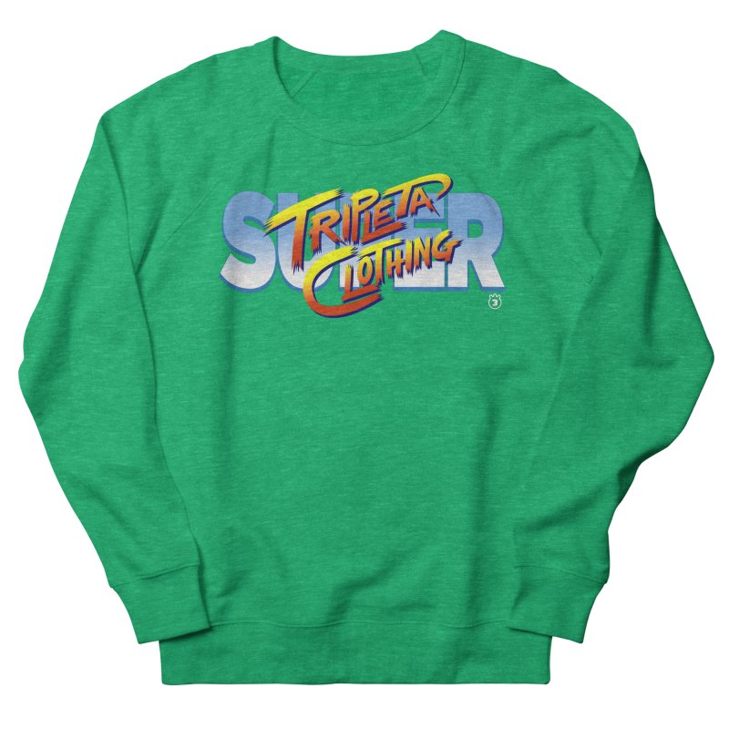 SUPER TRIPLETA FIGHTER Men's Sweatshirt by Tripleta Gourmet Clothing