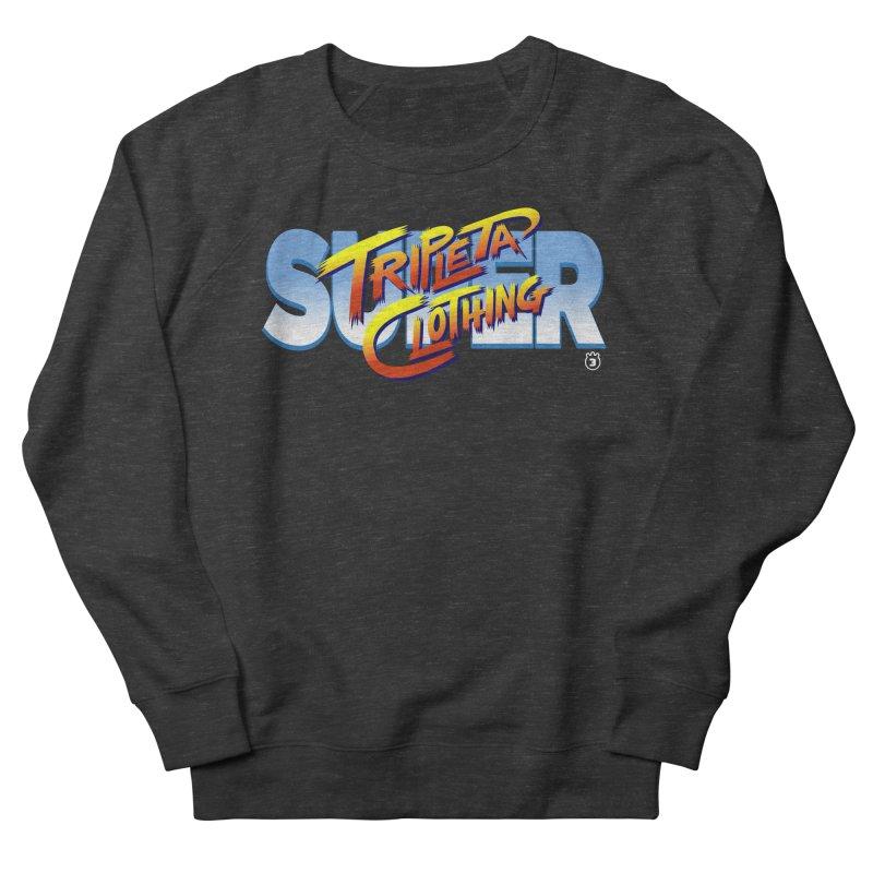 SUPER TRIPLETA FIGHTER Men's Sweatshirt by Tripleta Gourmet Clothing