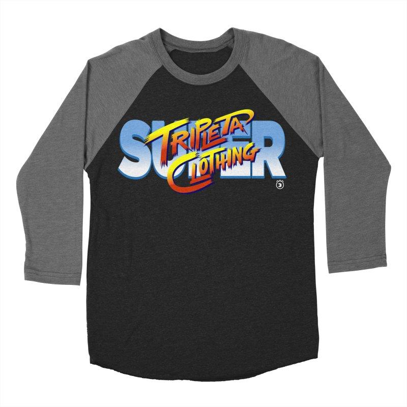 SUPER TRIPLETA FIGHTER Women's Baseball Triblend T-Shirt by Tripleta Gourmet Clothing