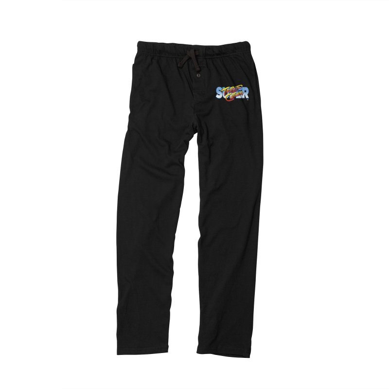 SUPER TRIPLETA FIGHTER Men's Lounge Pants by Tripleta Gourmet Clothing