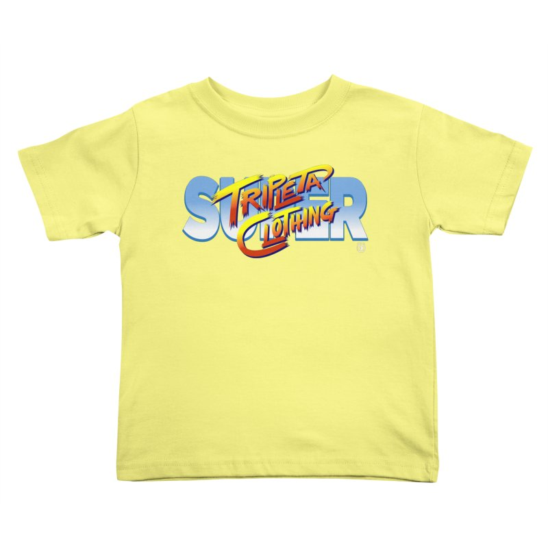 SUPER TRIPLETA FIGHTER Kids Toddler T-Shirt by Tripleta Gourmet Clothing