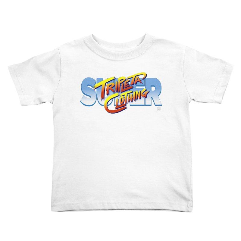 SUPER TRIPLETA FIGHTER Kids Toddler T-Shirt by Tripleta Gourmet Clothing