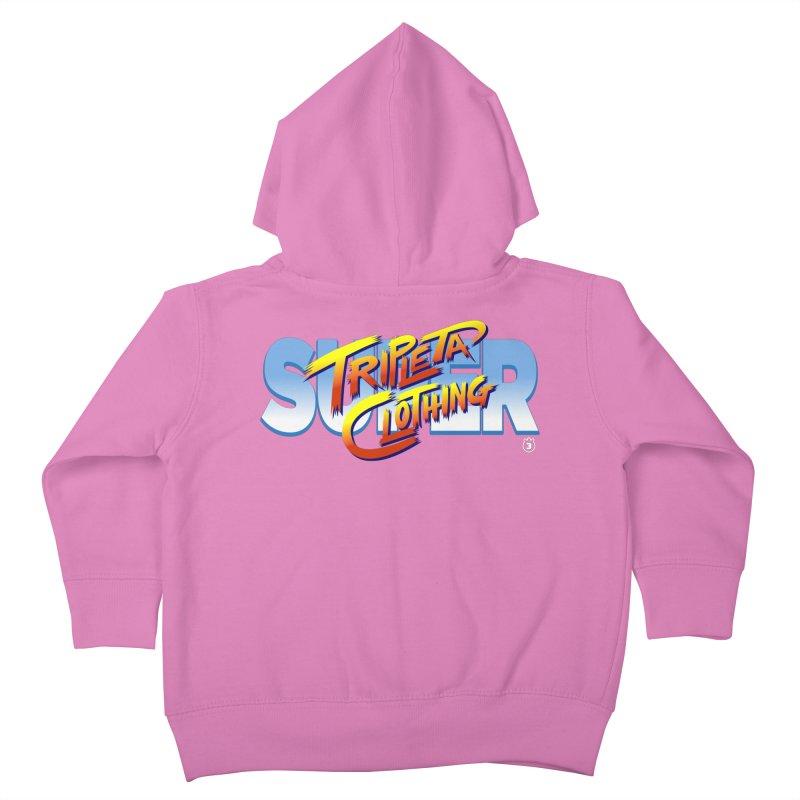 SUPER TRIPLETA FIGHTER Kids Toddler Zip-Up Hoody by Tripleta Gourmet Clothing
