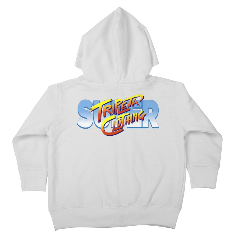SUPER TRIPLETA FIGHTER Kids Toddler Zip-Up Hoody by Tripleta Gourmet Clothing