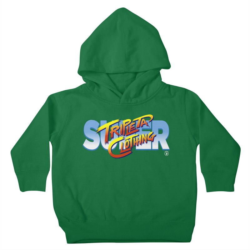 SUPER TRIPLETA FIGHTER Kids Toddler Pullover Hoody by Tripleta Gourmet Clothing