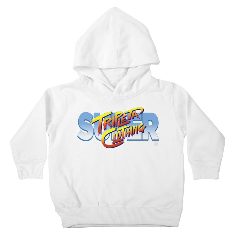 SUPER TRIPLETA FIGHTER Kids Toddler Pullover Hoody by Tripleta Gourmet Clothing