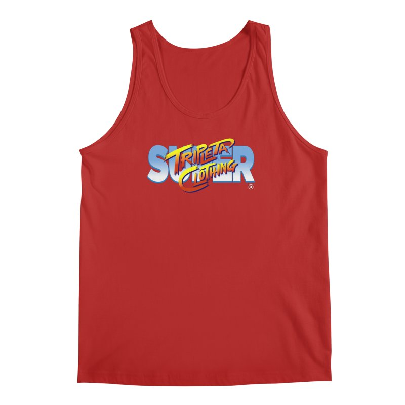 SUPER TRIPLETA FIGHTER Men's Tank by Tripleta Gourmet Clothing