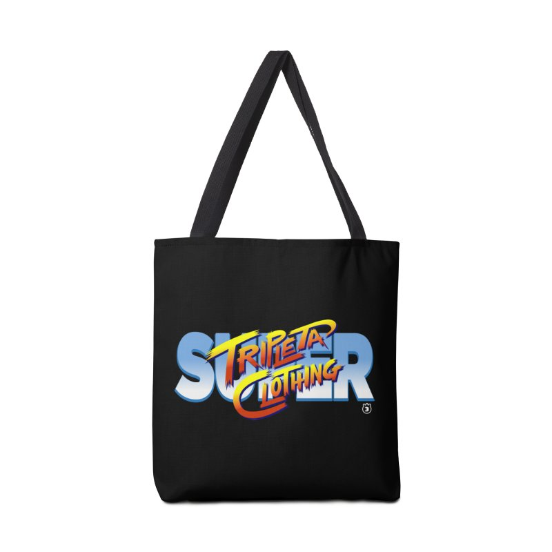SUPER TRIPLETA FIGHTER Accessories Tote Bag Bag by Tripleta Studio Shop