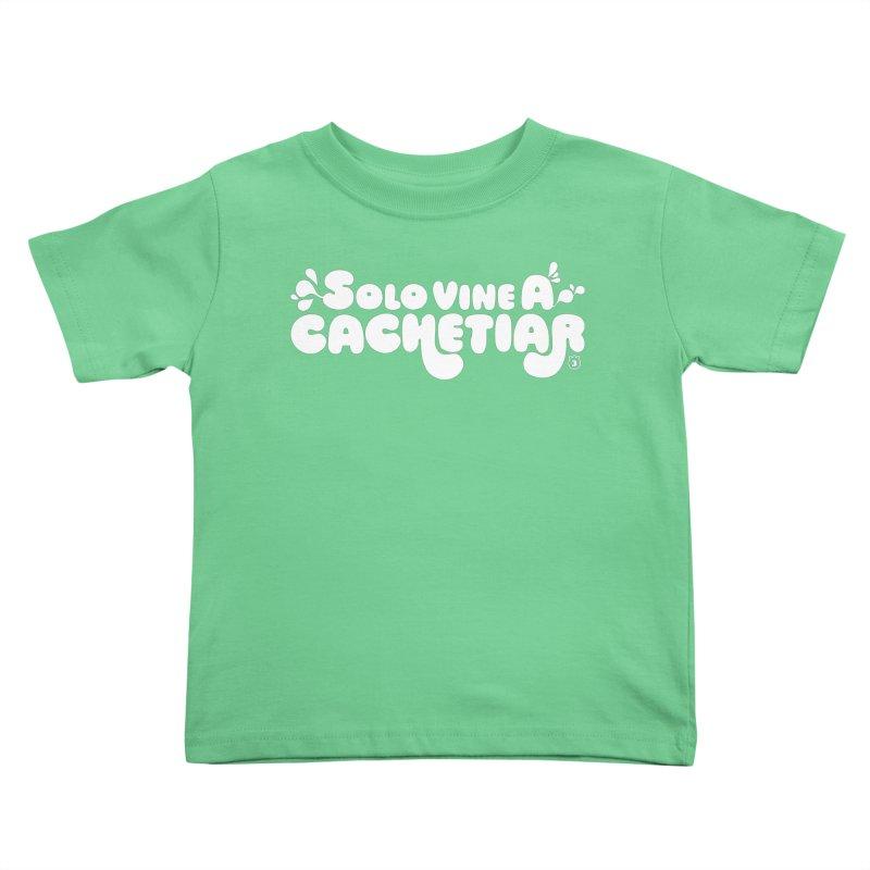 CACHETE Kids Toddler T-Shirt by Tripleta Gourmet Clothing