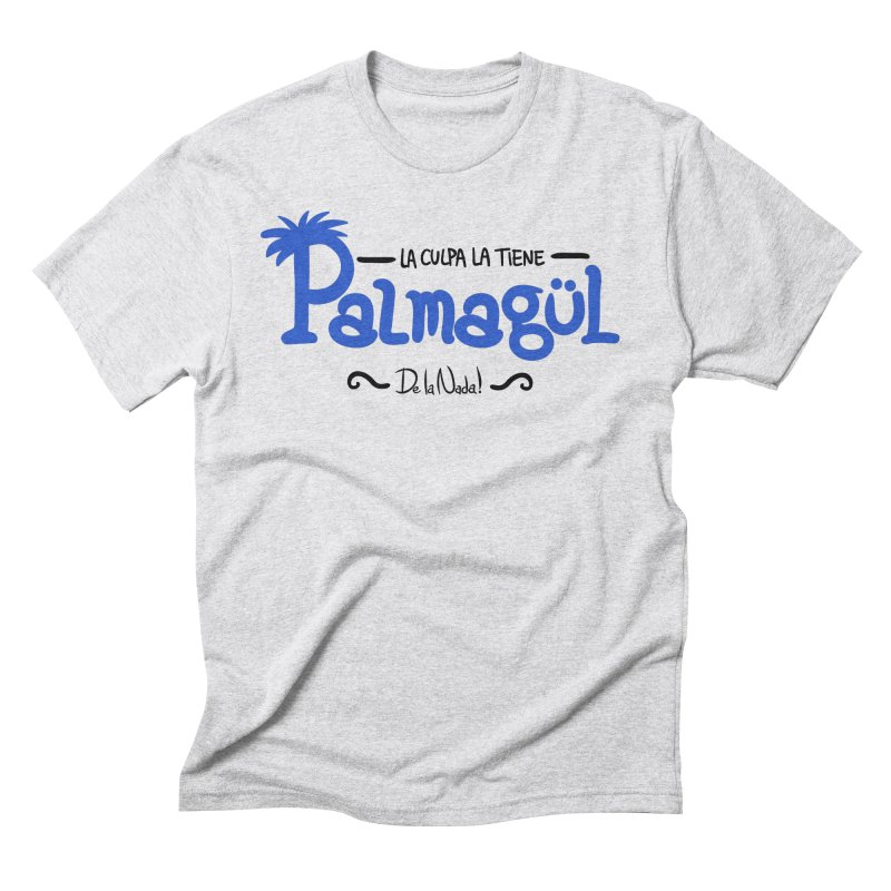 PALMAGUL in Men's Triblend T-Shirt Heather White by Tripleta Studio Shop