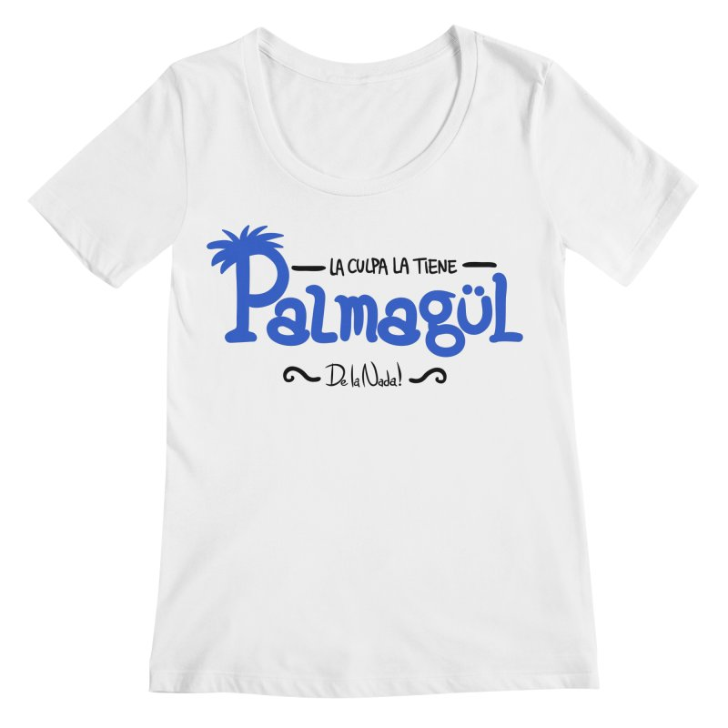 PALMAGUL Women's Regular Scoop Neck by Tripleta Studio Shop
