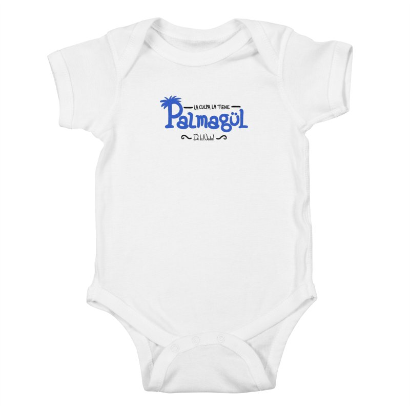 PALMAGUL Kids Baby Bodysuit by Tripleta Gourmet Clothing