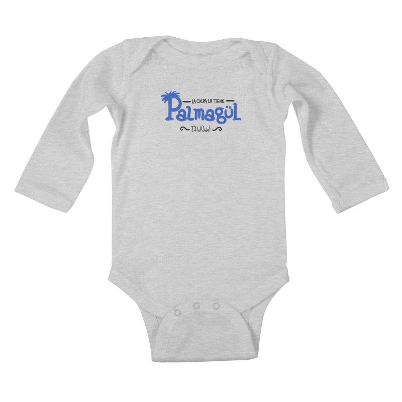 PALMAGUL Kids Baby Longsleeve Bodysuit by Tripleta Gourmet Clothing