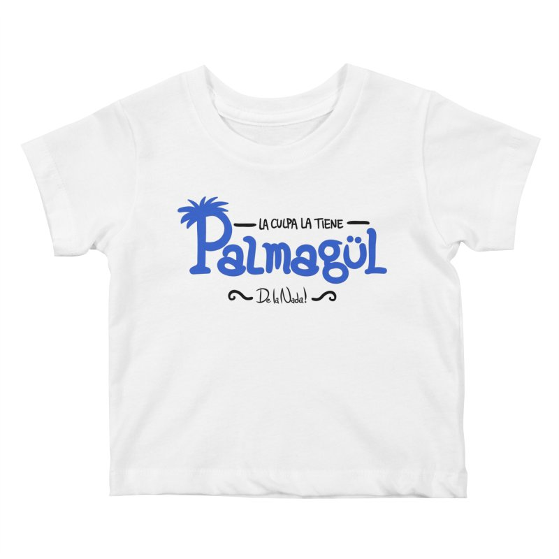 PALMAGUL Kids Baby T-Shirt by Tripleta Studio Shop