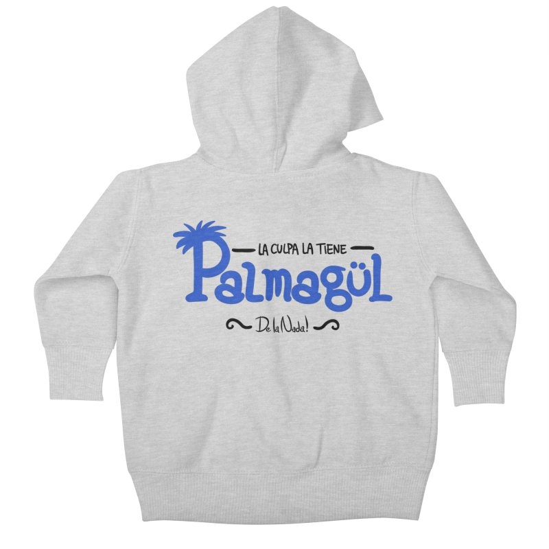 PALMAGUL Kids Baby Zip-Up Hoody by Tripleta Gourmet Clothing