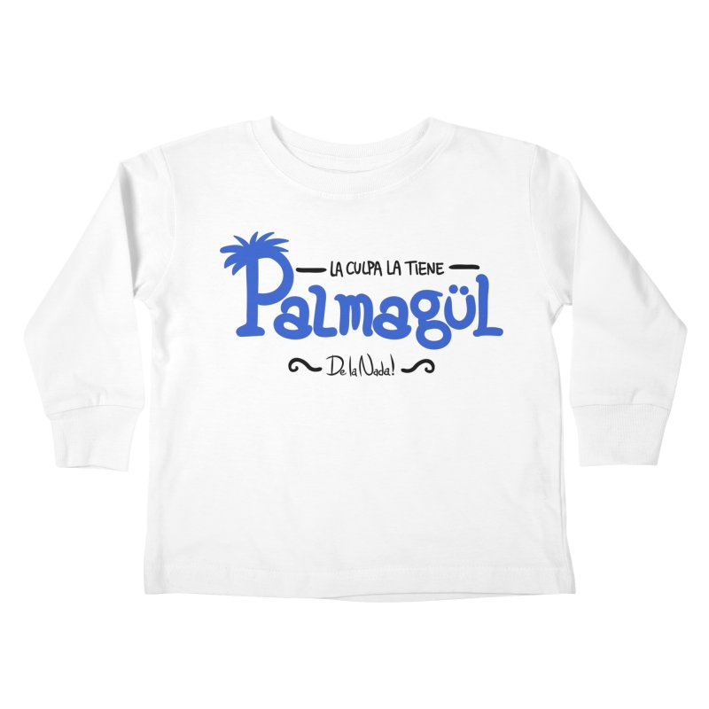 PALMAGUL Kids Toddler Longsleeve T-Shirt by Tripleta Gourmet Clothing