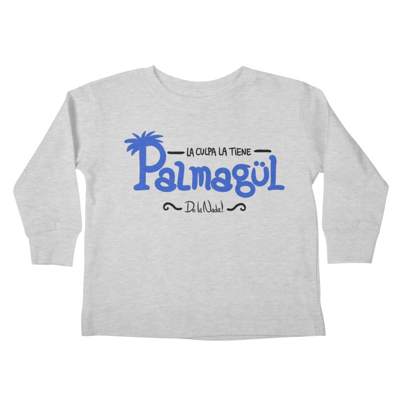 PALMAGUL Kids Toddler Longsleeve T-Shirt by Tripleta Gourmet Clothing
