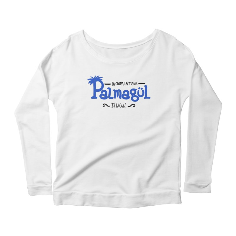 PALMAGUL Women's Longsleeve Scoopneck  by Tripleta Gourmet Clothing