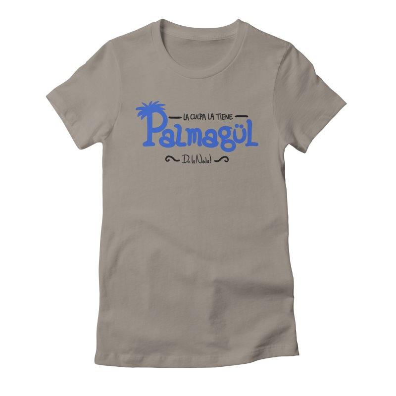 PALMAGUL Women's Fitted T-Shirt by Tripleta Gourmet Clothing