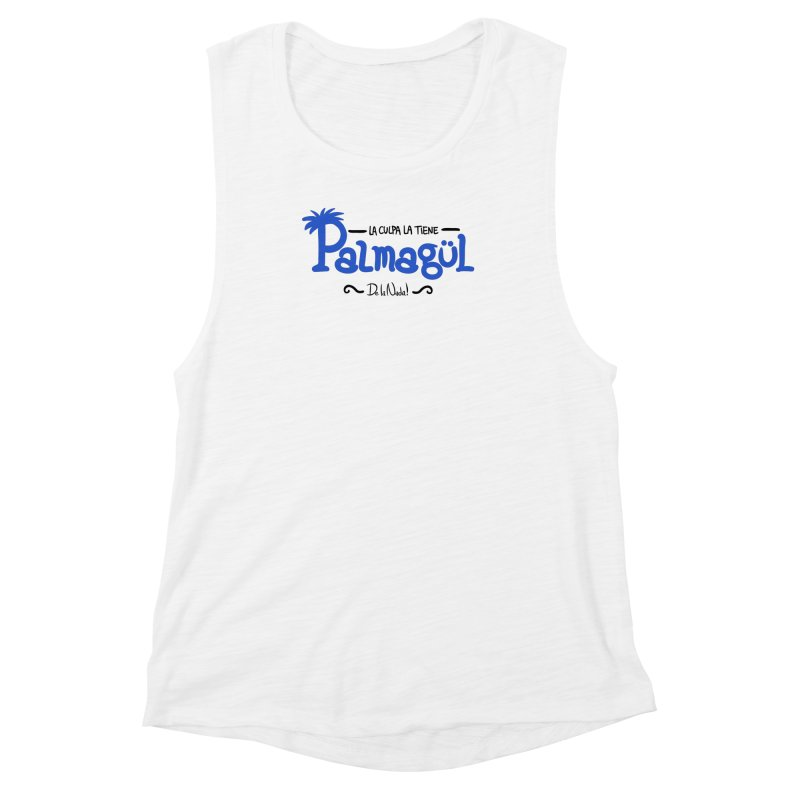 PALMAGUL Women's Muscle Tank by Tripleta Gourmet Clothing