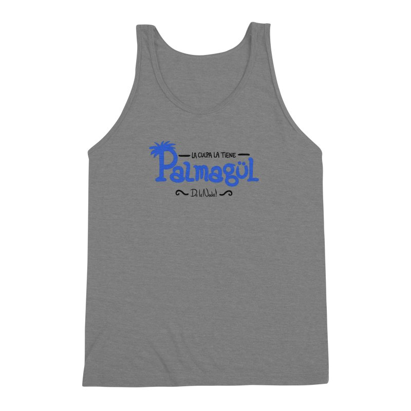 PALMAGUL Men's Triblend Tank by Tripleta Gourmet Clothing