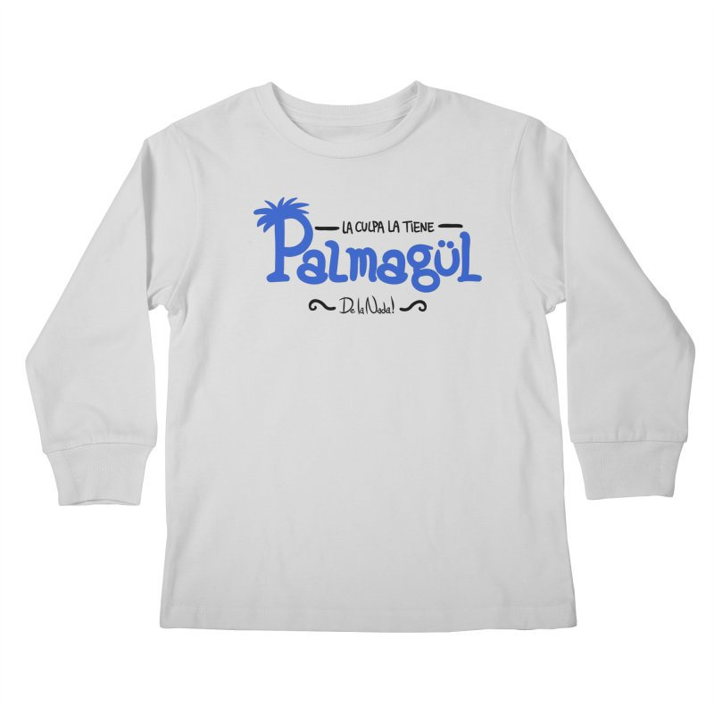 PALMAGUL Kids Longsleeve T-Shirt by Tripleta Studio Shop