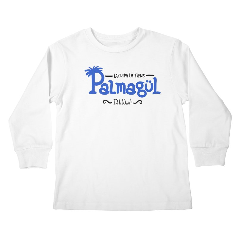 PALMAGUL Kids Longsleeve T-Shirt by Tripleta Gourmet Clothing
