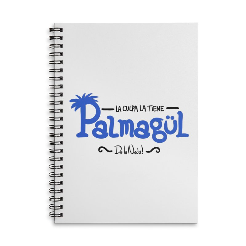 PALMAGUL Accessories Lined Spiral Notebook by Tripleta Studio Shop