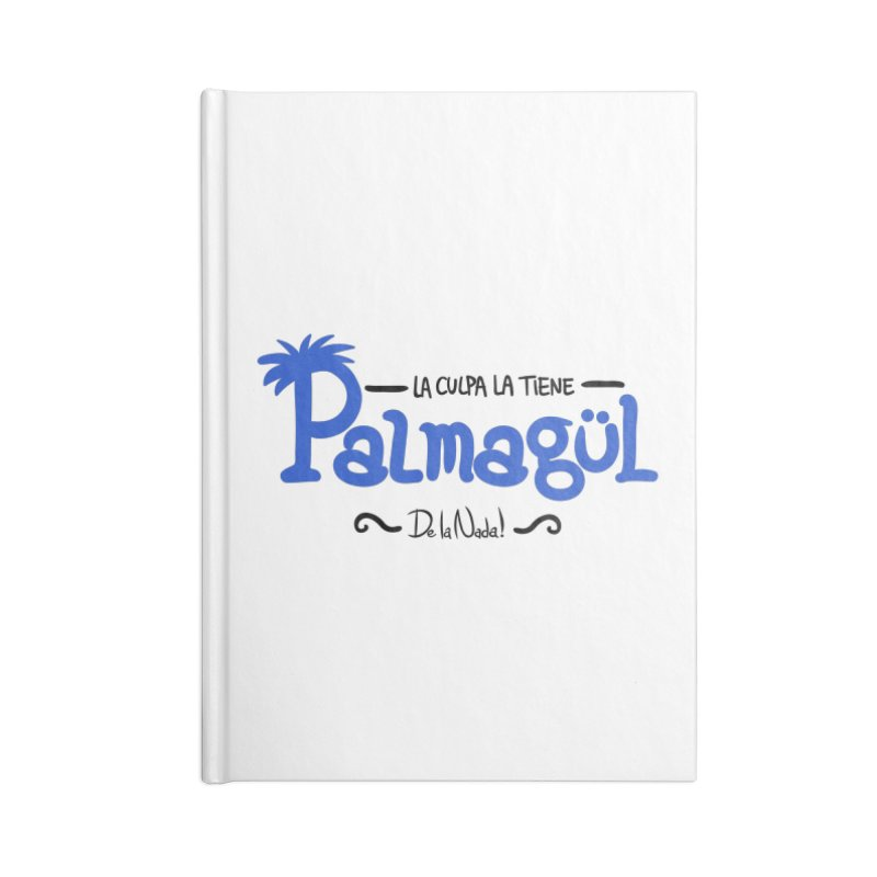PALMAGUL Accessories Blank Journal Notebook by Tripleta Studio Shop