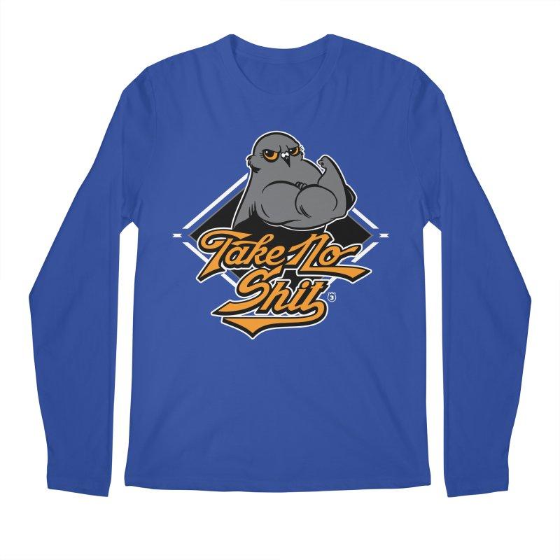 TAKE NO SHIT Men's Longsleeve T-Shirt by Tripleta Gourmet Clothing