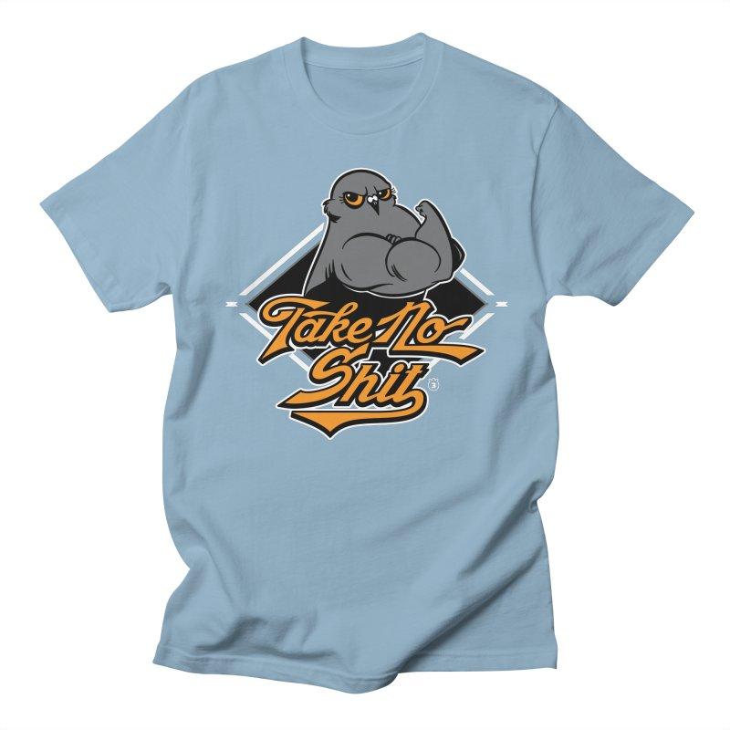 TAKE NO SHIT Men's Regular T-Shirt by Tripleta Gourmet Clothing