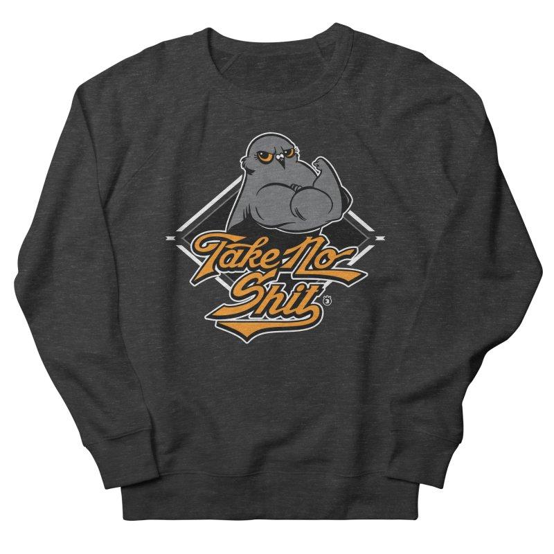 TAKE NO SHIT Women's Sweatshirt by Tripleta Gourmet Clothing