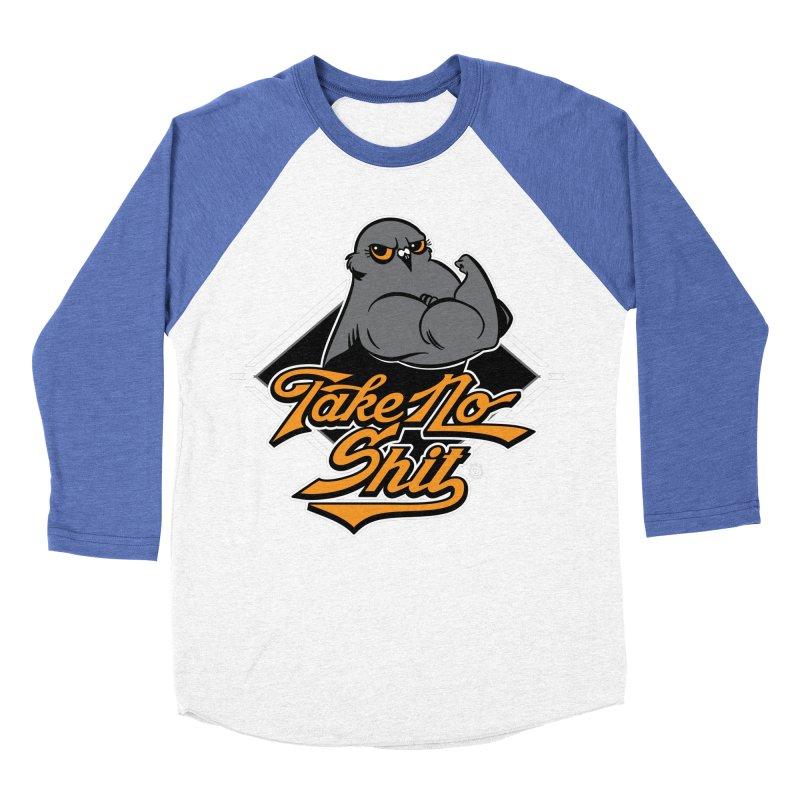 TAKE NO SHIT Women's Baseball Triblend Longsleeve T-Shirt by Tripleta Studio Shop