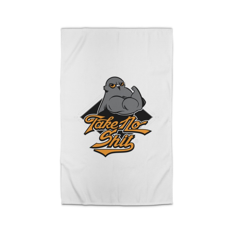 TAKE NO SHIT Home Rug by Tripleta Studio Shop