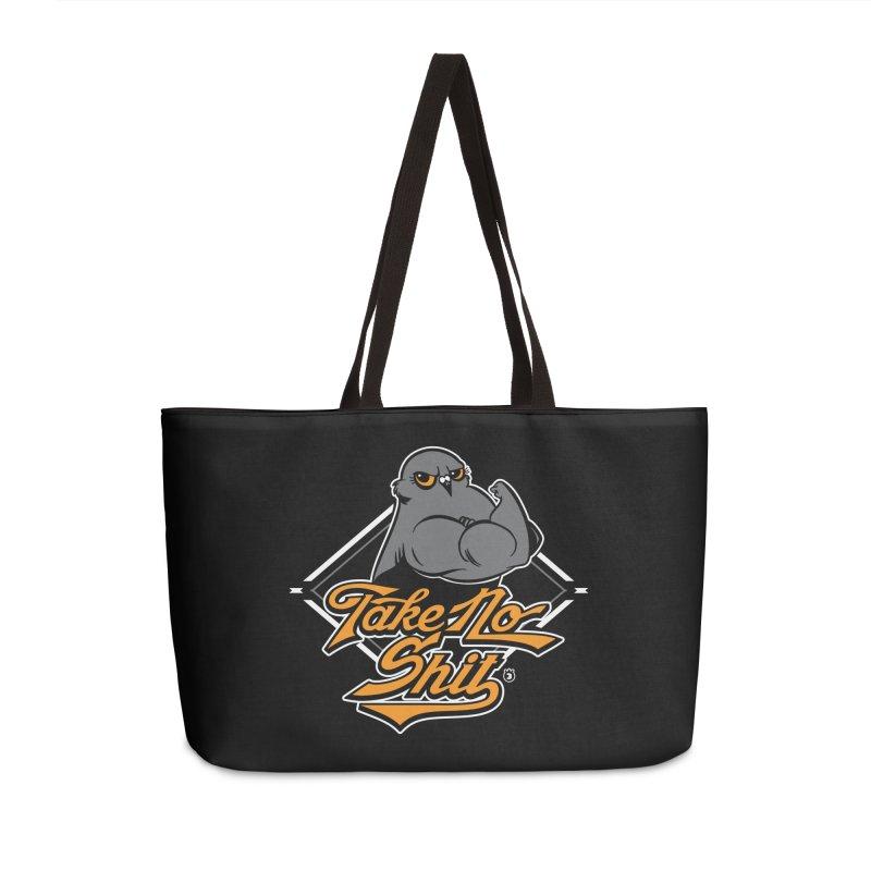 TAKE NO SHIT Accessories Bag by Tripleta Studio Shop