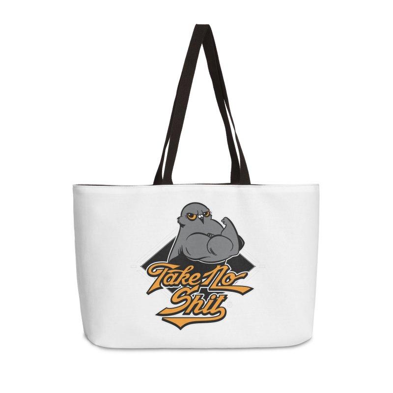 TAKE NO SHIT Accessories Weekender Bag Bag by Tripleta Studio Shop