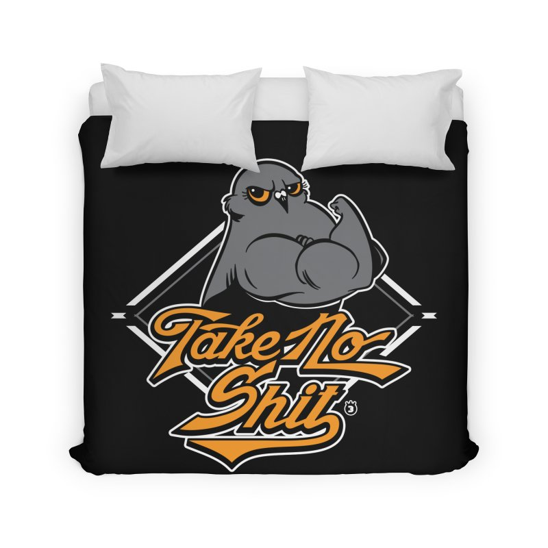 TAKE NO SHIT Home Duvet by Tripleta Studio Shop