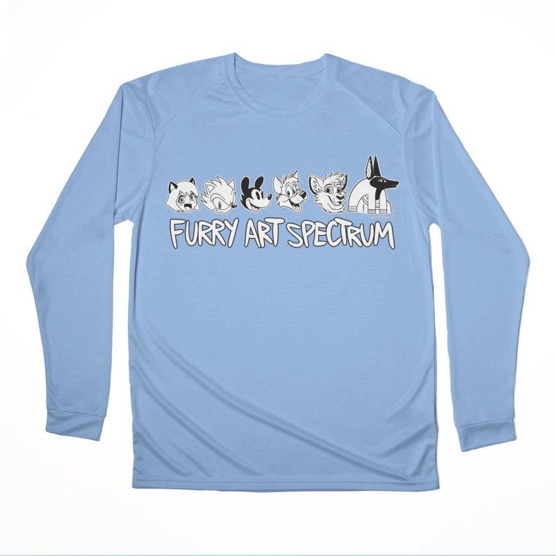FURRY ART SPECTRUM Men's Longsleeve T-Shirt by Tripleta Studio Shop