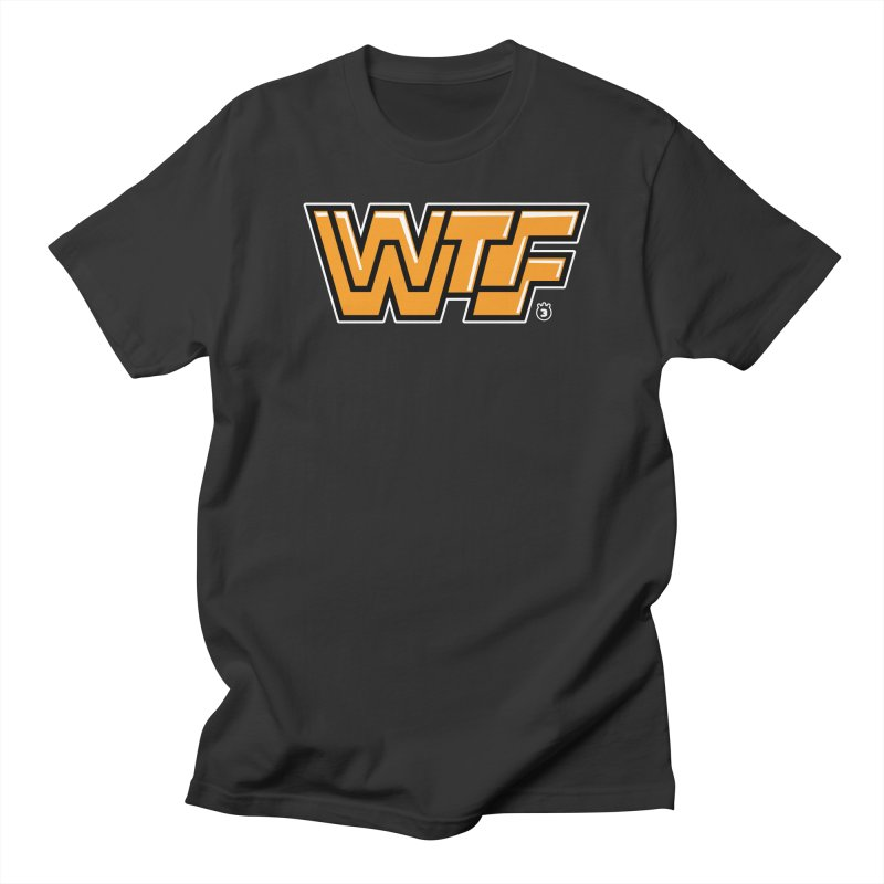 WTF Men's T-shirt by Tripleta Gourmet Clothing