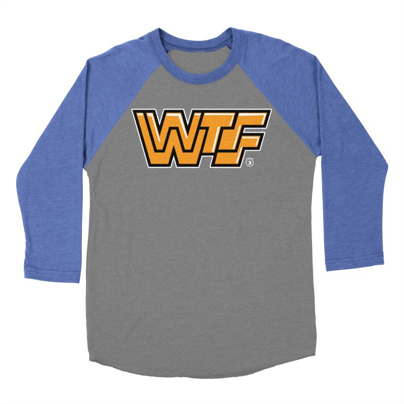 WTF Women's Baseball Triblend T-Shirt by Tripleta Gourmet Clothing