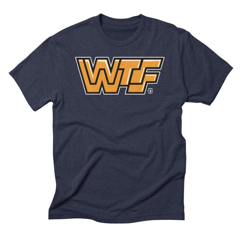 WTF Men's Triblend T-shirt by Tripleta Gourmet Clothing