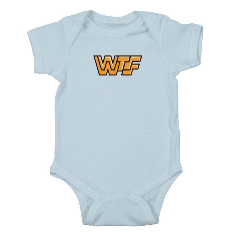 WTF Kids Baby Bodysuit by Tripleta Gourmet Clothing