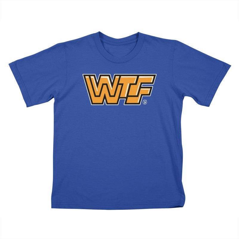 WTF Kids T-shirt by Tripleta Gourmet Clothing