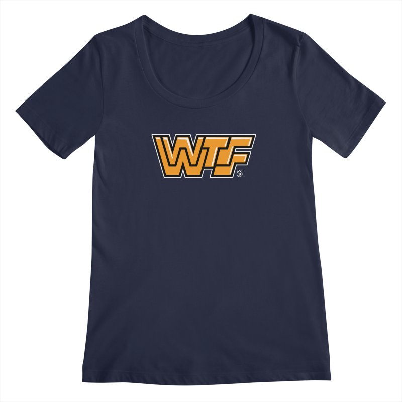 WTF Women's Scoopneck by Tripleta Gourmet Clothing