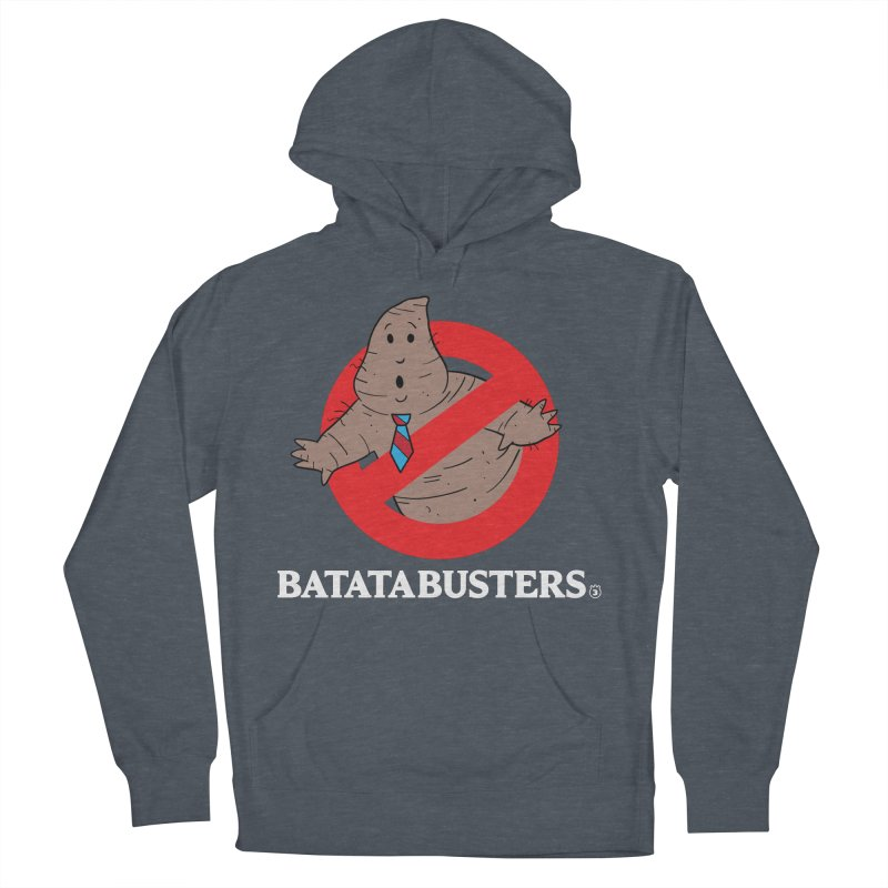 BATATA BUSTERS Men's French Terry Pullover Hoody by Tripleta Gourmet Clothing
